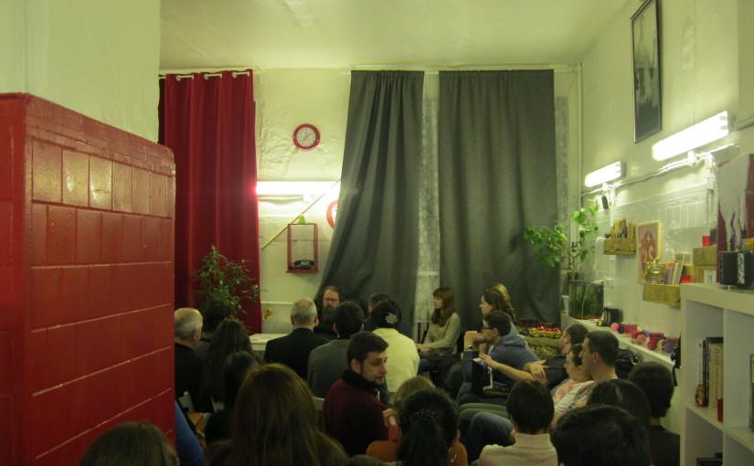 Лекция А. Кураева в антикафе «Гранат»